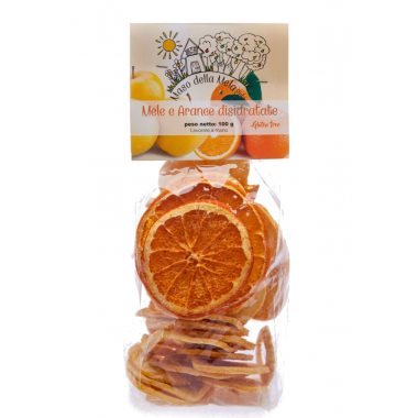 Dehydrated Apple and Orange - 100gr.