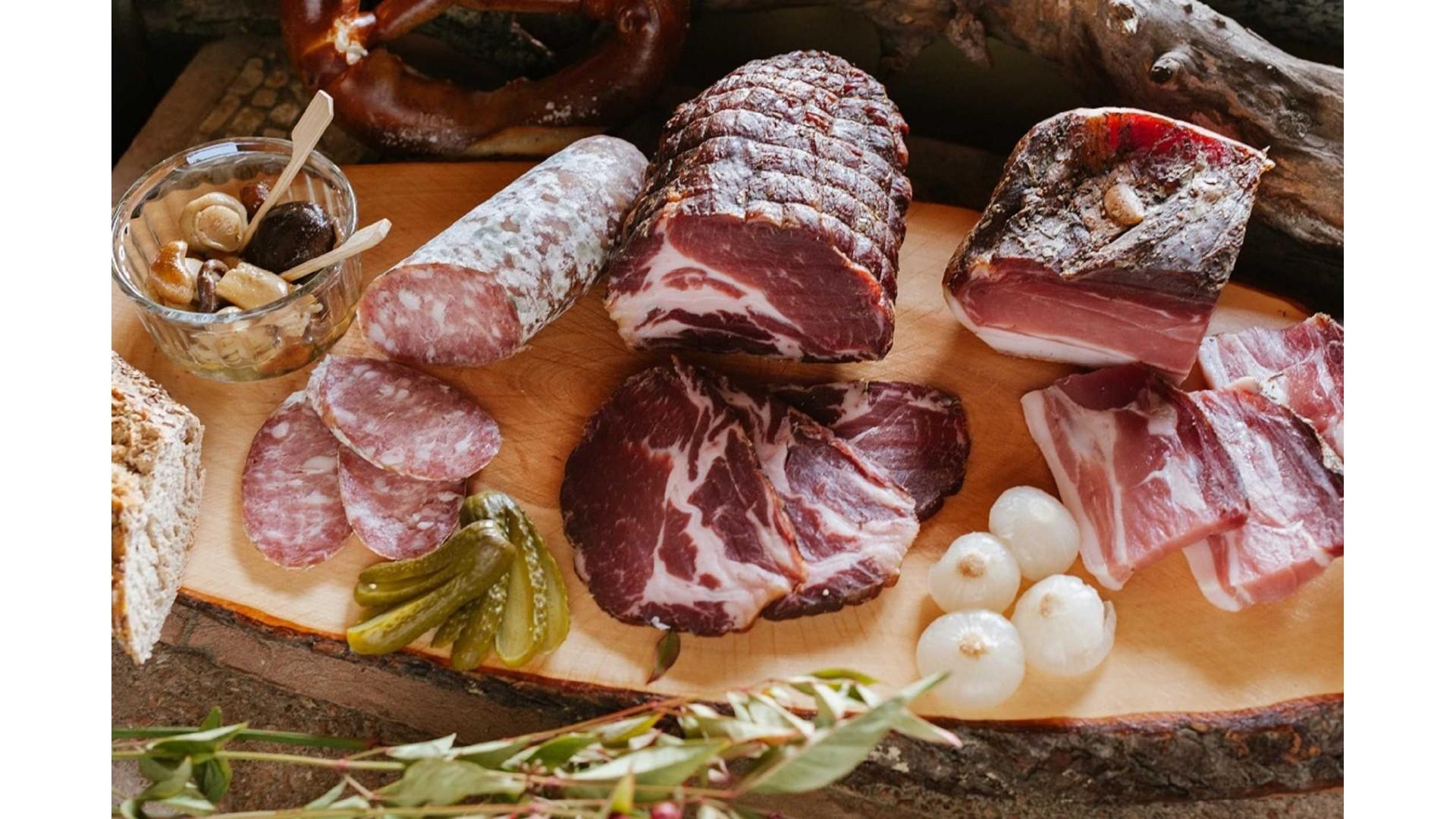 Salami from Trentino
